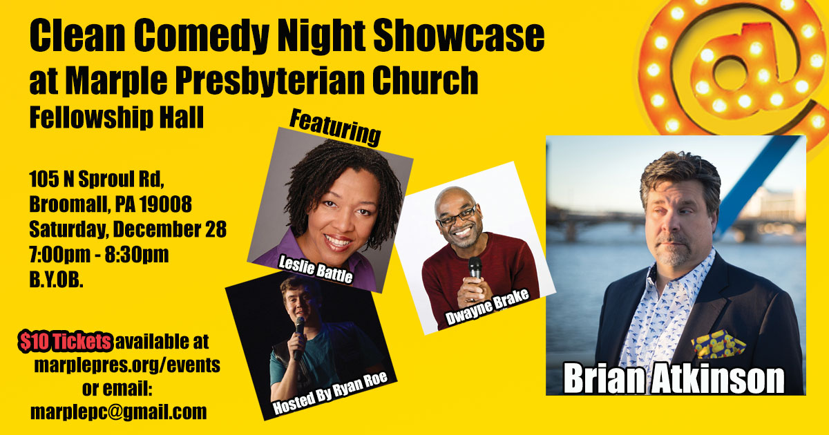 Clean Comedy Night Showcase - Philadelphia