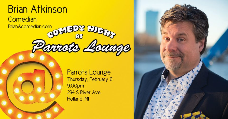 Comedy Night At Parrots Lounge