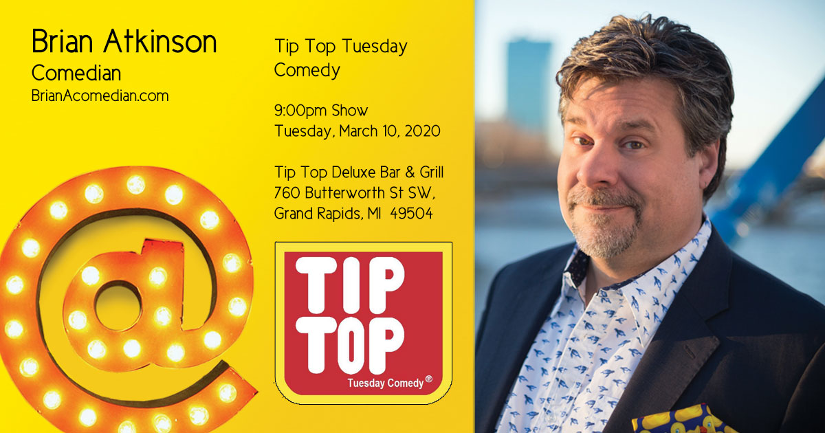 Tip Top Tuesday Comedy