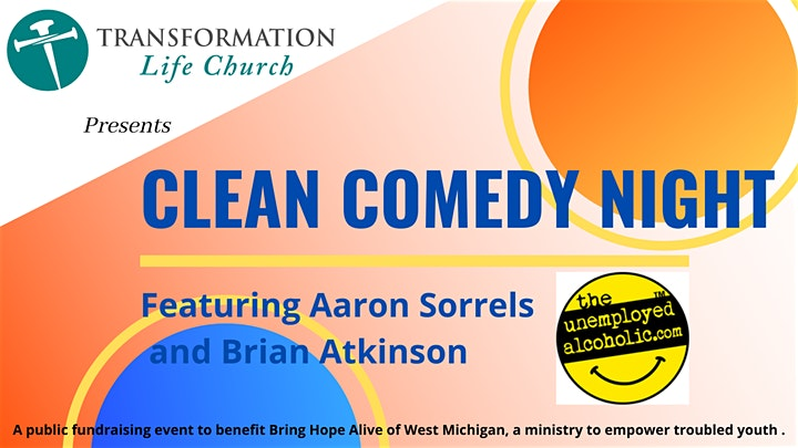 Brian Atkinson Comedy at Transformation Life Church