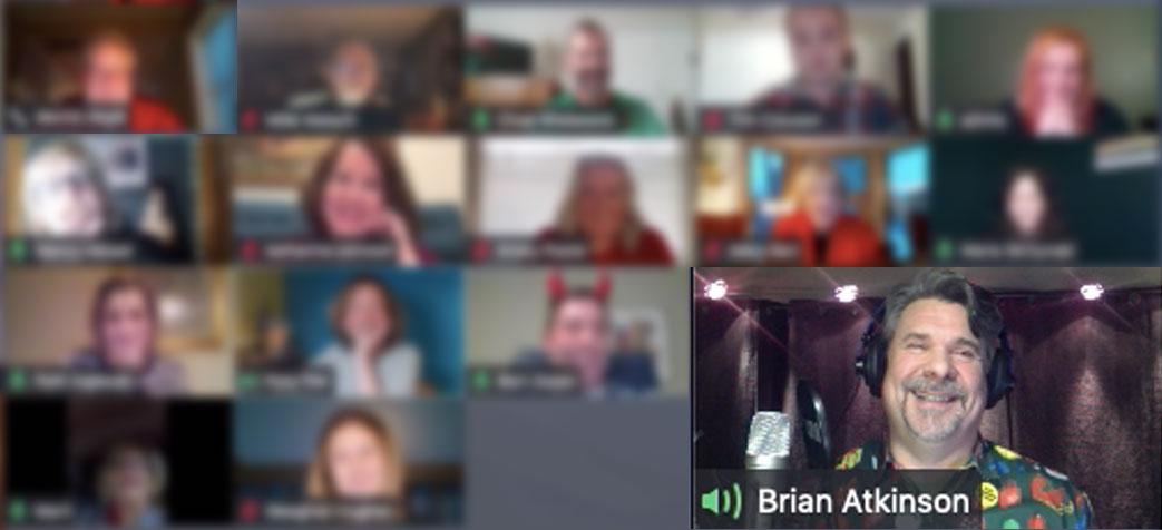 Brian Atkinson headlining corporate online show for Destination Ann Arbor