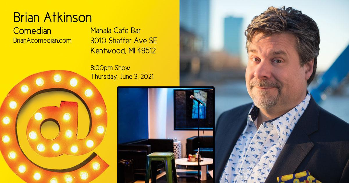 Brian Atkinson performs at the Mahala Cafe Bar