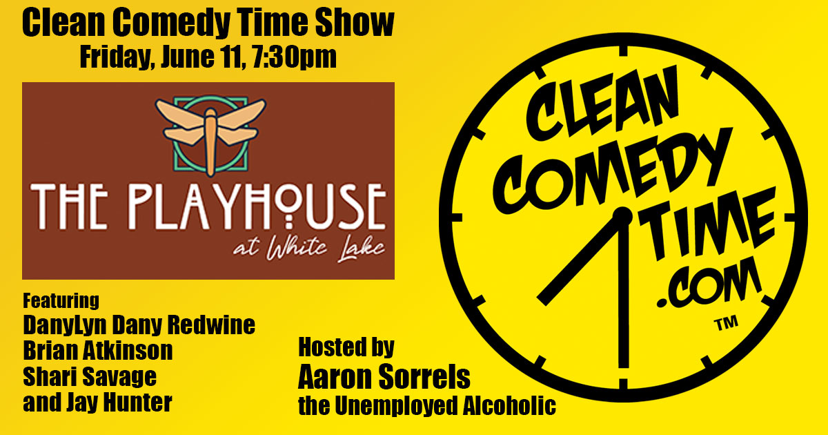 Brian Atkinson - Clean Comedy Time at The Playhouse at White Lake