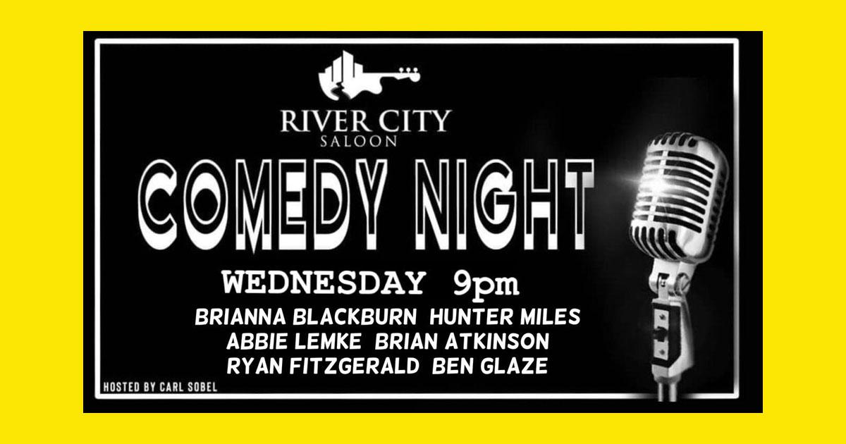 Brian Atkinson at River City Comedy Night