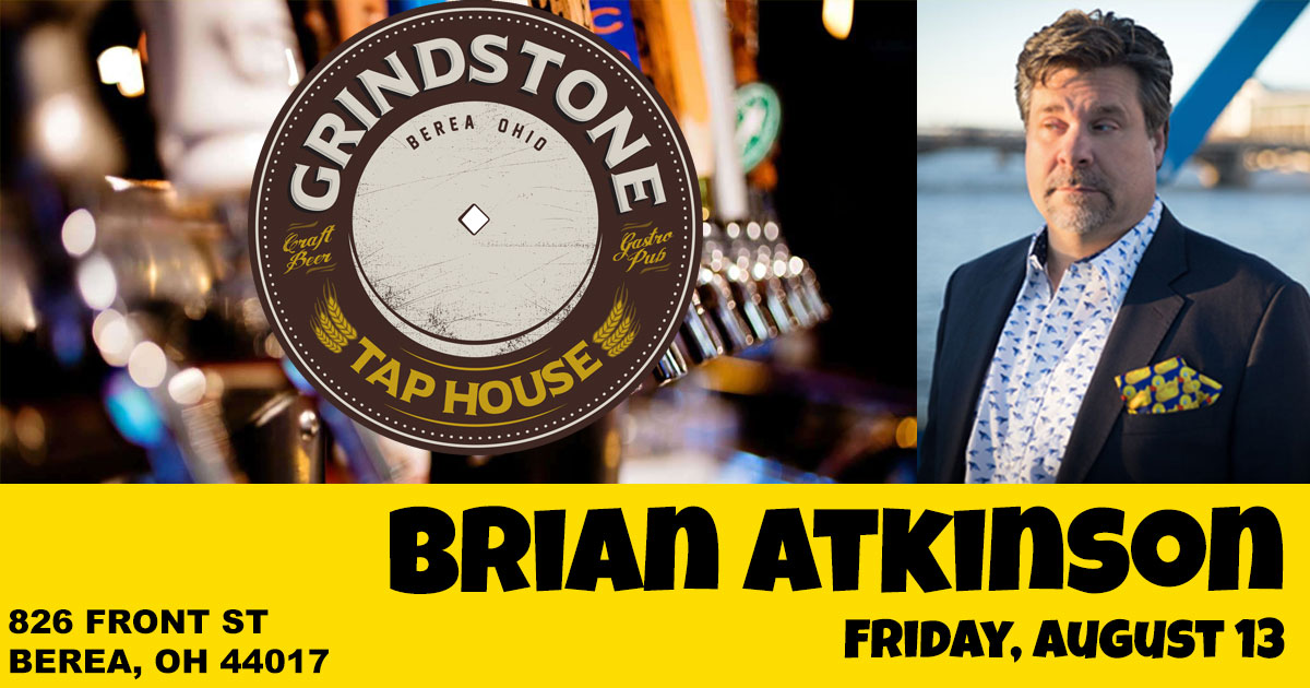 Brian Atkinson performs on Comedy Grind