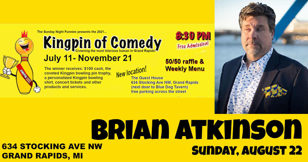 Brian Atkinson performs
