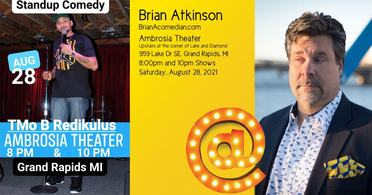 Brian Atkinson at the Ambrosia Theater