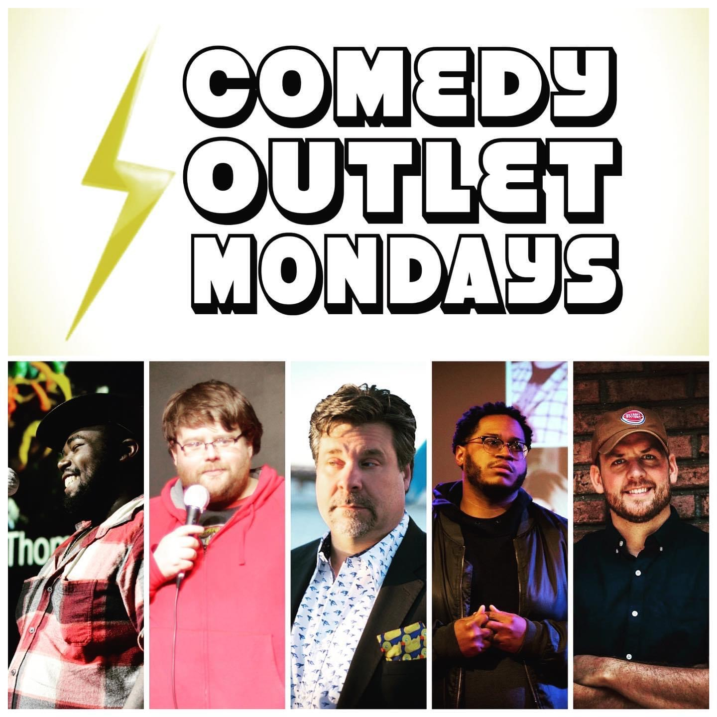 Brian Atkinson performs at Comedy Outlet Mondays