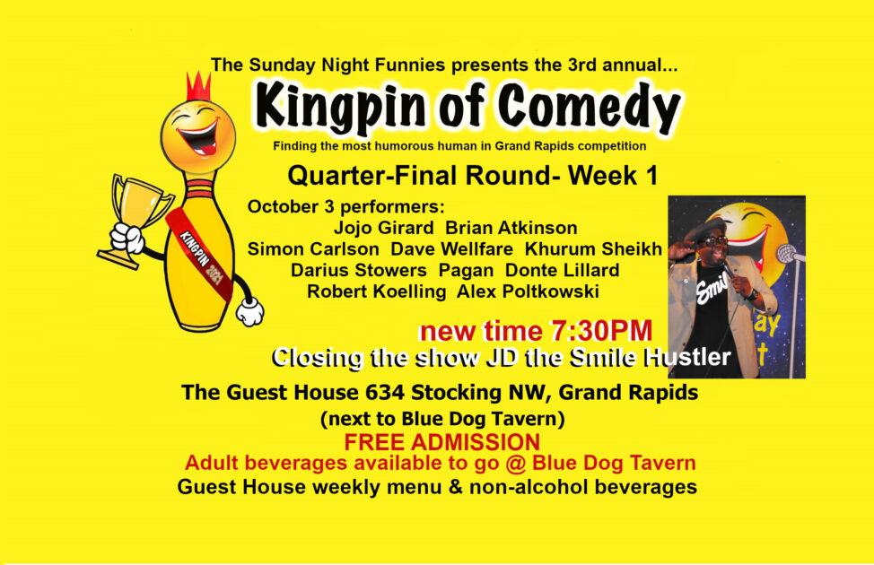 SNF K.Pin weekly poster