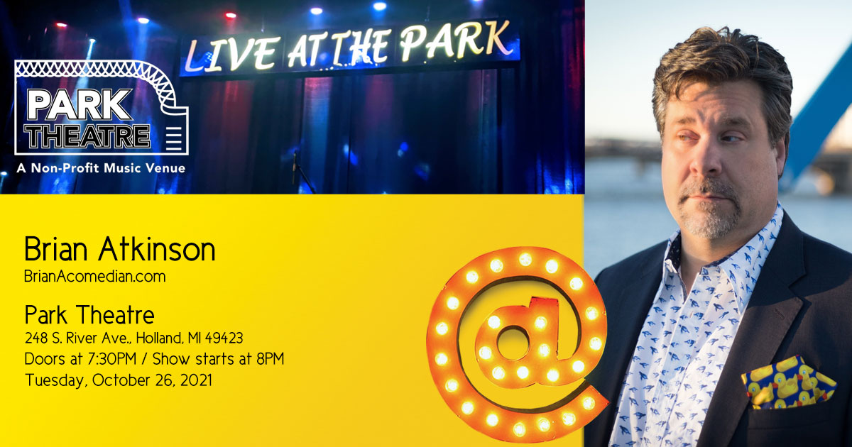 Brian Atkinson performs at the Park Theatre